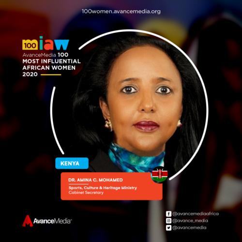 Dr. Amina C. Mohamed