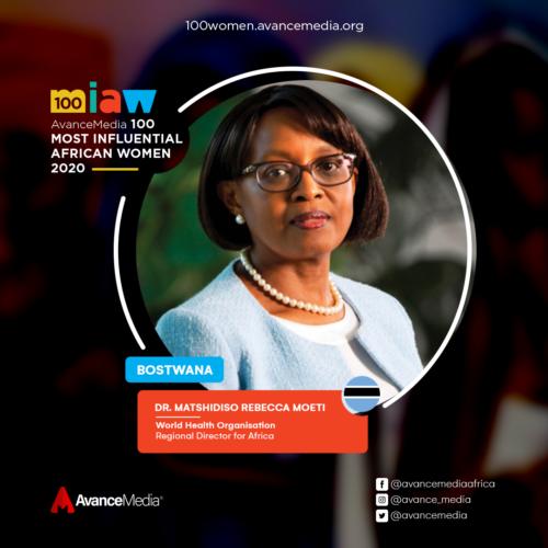 Dr. Matshidiso Rebecca Moeti