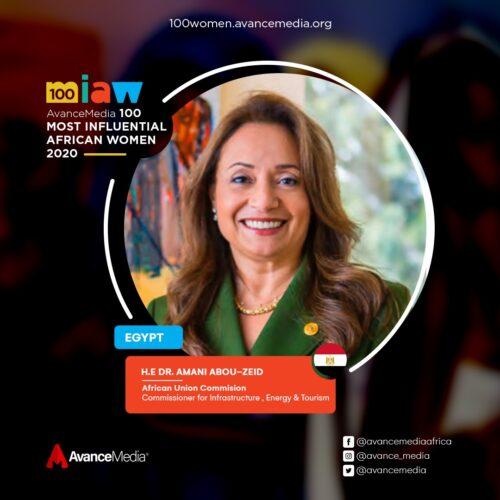 H.E Dr. Amani Abou-Zeid