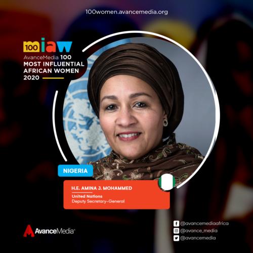 H.E. Amina J. Mohammed